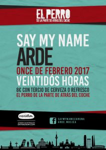 ARDE + SAY MY NAME